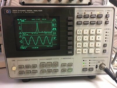 Hewlett Packard/Agilent HP3561A Analyser
