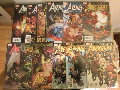 Avengers The Initiative 1-20 and annual 1 Marvel Comics