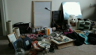 Job lot of car boot sale items, great collection including some designer pieces!