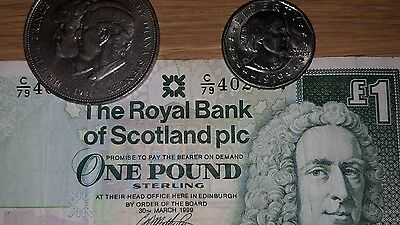 Liberty Dollar 1979 coin,Charles and Dianna Commemorative Coin,Pound Note