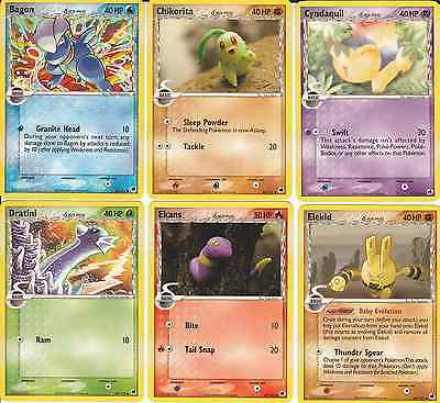 Pokemon Set of Common Cards (29+1) Ex Dragon Frontiers