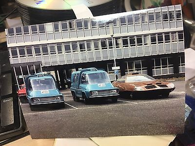 UFO Cars 7 x 5 Photo Gerry Anderson