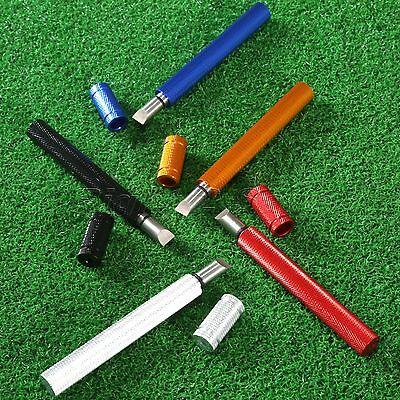 Restores Groove Golf Club Groove Sharpener Regrooving Tool Stainless U & V Blade