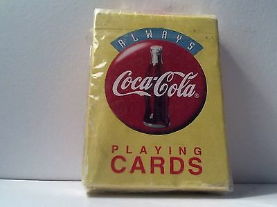 Vintage 1994 Always Coca Cola Playing Cards Factory Sealed New