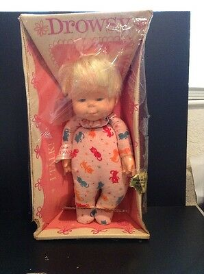Vintage 1964 Mattel Talking DROWSY DOLL NRFB New VERY RARE ABSOLUTELY MUST SEE!!