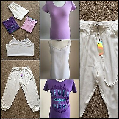 Ladies Clothes Bundle Size 12 Immaculate / X1 Bnwt Lilac White Purple X4 Items