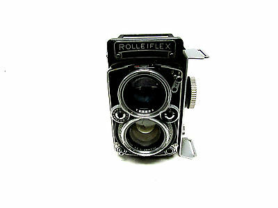 VINTAGE ROLLEIFLEX 1:2.8 80mm CARL ZEISS FRANKE HEIDECKE GERMANY ~ AS IS ~ ( HAR