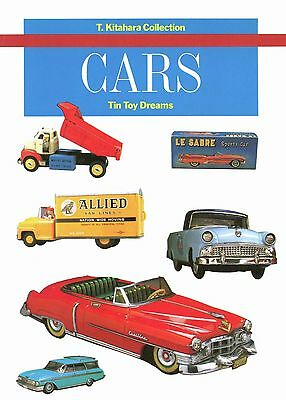 Antique Vintage Japanese Tin Cars - Makers Dates / Scarce Book