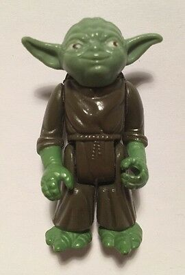 Vintage Star Wars Figure Yoda 1980 LFL Hong Kong Kenner ESB Pac-man Eyes