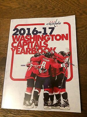 2016/17 Washington Capitals- Official Yearbook
