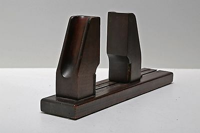 Antique Mahogany Adjustable Professional Pianist Finger Exerciser Device  C 1916