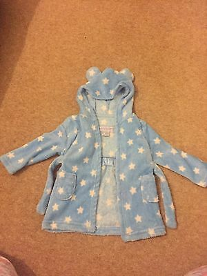 Baby Boy Dressing Gown 6-12 Months