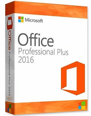 Microsoft Office 2016 Professional Plus - RETAIL - Windows PC