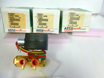 "Asco 1/4"" EF8345H003 exp proof 4 way air only/exhaust to atmosphere valve, C305"