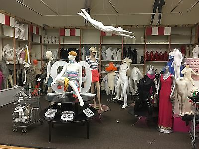 Lost Our Lease Display Cases Mannequins Lighting Shelving Store Fixtures Galore!