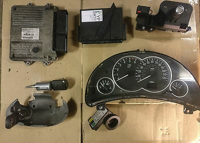 Vauxhall Corsa C 1.3 CDTi Complete ECU Kit and Lock Set, Lost Key Replacement