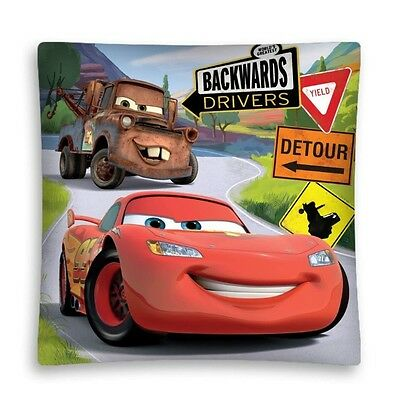 NEW LICENSED DISNEY CARS 02 cushion cover 40x40cm