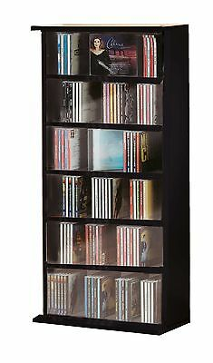 VCM CD/ DVD Vostan Tower without Glass Black