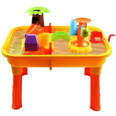Oypla Toddlers Kids Childrens Sand Water Table Toy With Accessories