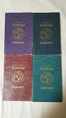 Wizard's Spell Compendium Advanced Dungeons & Dragons 1 2 3 4 Set TSR