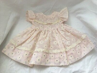 Mommy Made? Pale Pink Chatty Cathy Daisy Doll Dress