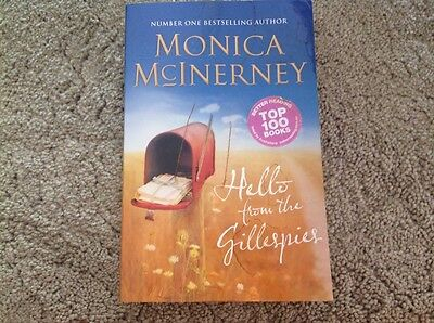 Hello from the Gillespies by Monica McInerney Paperback