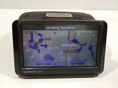 Garmin Nuvi 255w GPS bundle untested parts or repair power's on free shipping...