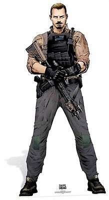 Rick Flag from Suicide Squad Comic Style Cardboard Cutout / Standee / Standup