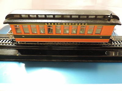 Bachmann On30 Great Northern Obversation Car,  # 14, Furnished, No Box
