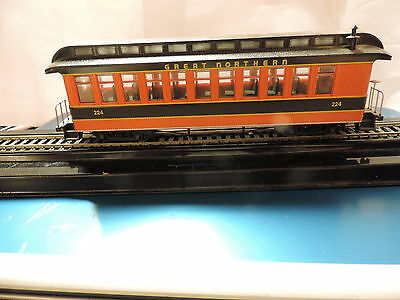 Bachmann On30 Great Northern Passenger Car,  # 224, Furnished, No Box