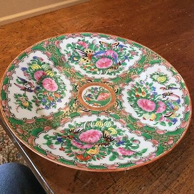Rose Medallion Plate or Charger