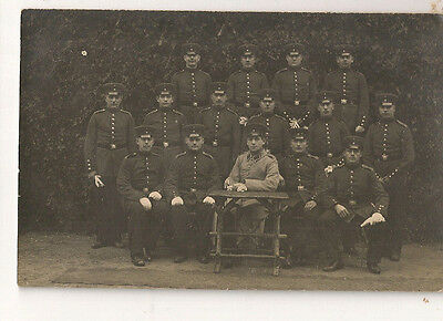 vintage photo pc YOUNG MAN GERMAN SOLDIER 1912