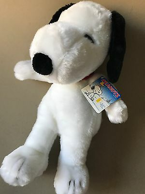 Large Snoopy Plush Toy - New With Tags - Perfectly Clean - Peanuts Beagle