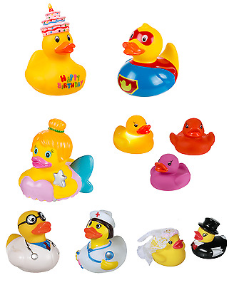 Bath Ducks Funny Theme Doctor Nurse LED Lights Birthday Bride groom Rubber Ducky