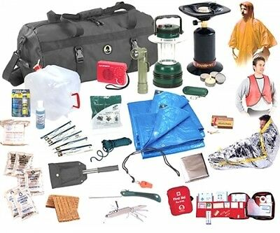 Emergency Preparedness Deluxe Kit Outdoor Survival Emergency Supplies First Aid