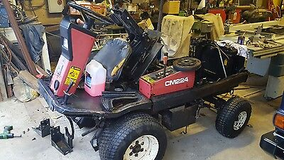 SHIBAURA CM224 DIESEL 4wd Tractor MOWER (spare or repair needs a new engine)