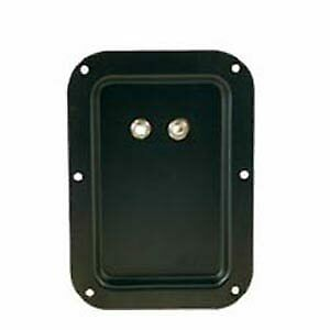 Black recessed back plate - Brand New - DJ City Australia