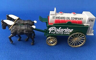 Chevron 1990 Standard Oil Company Polarine Horse Drawn Wagon - NEW