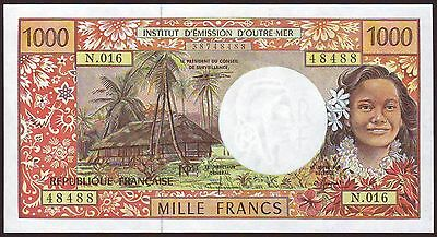 French Pacific Territories   1000 Francs  ND (1996)    UNC