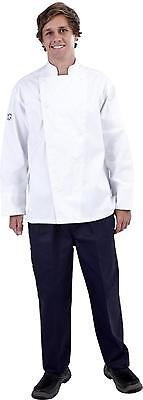 Global Chef Jacket White Long Sleeve -CLASSIC with Sewn Buttons