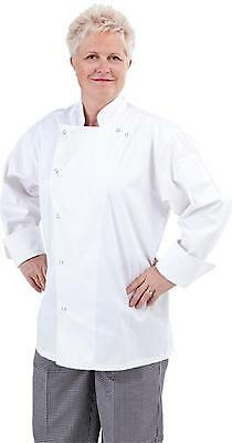 Global Chef Jacket White Long Sleeve -CLASSIC with Snaps
