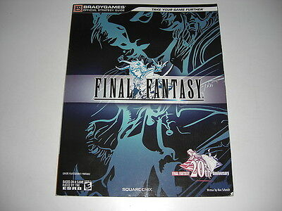 FINAL FANTASY 1 - OFFICIAL Brady Games STRATEGY GUIDE BOOK