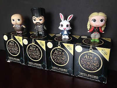 Funko Mystery Minis Disney Alice Through The Looking Glass Lot Of 4 Figures