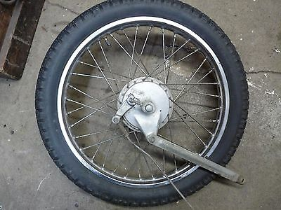 Suzuki a100 1976 rear wheel with brake and tire used