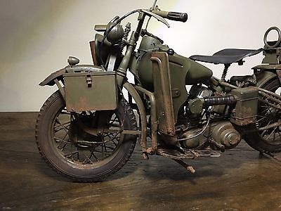 1/6 scale Harley Davidson WWII motorcycle