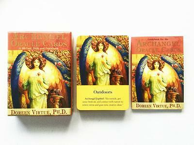 Archangel Oracle Cards By Doreen Virtue - 45 Card Deck And Guidebook