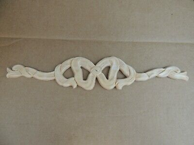 5 Packs New White Hardwood Elements Ormental Onlay~Woodworking~14021PKWHW