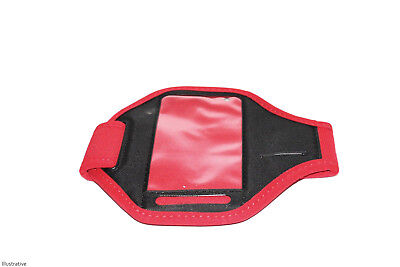 Gym Running Jogging Arm Band Sports Armband Case Holder Strap For iPHONE 5 Red
