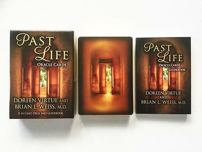 Past Life Oracle Cards By Doreen Virtue - 44 Card Deck And Guidebook