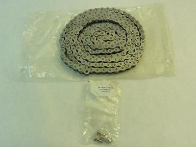 """147679 New-No Box, Renold 50SSRB SS Roller Chain # 50, 5/8"""" Pitch, 10FT Length"""